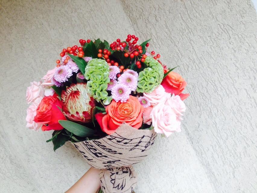 buchet flori