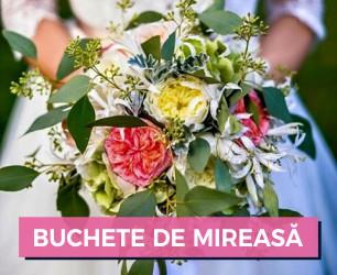 buchete mireasa